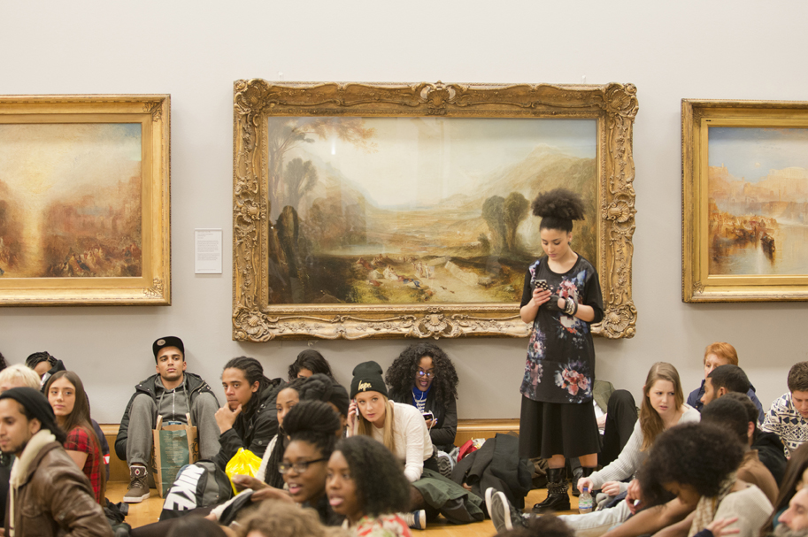 Tate Britain-Poetry luv