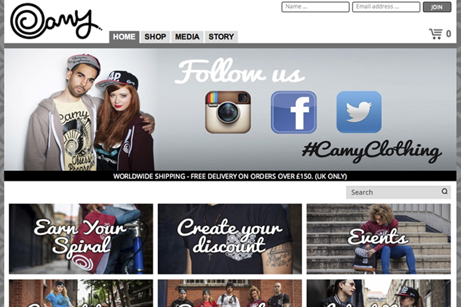 Camy Website