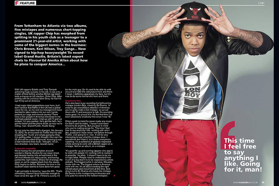 Flavour Magazine-Chip (Chipmunk)